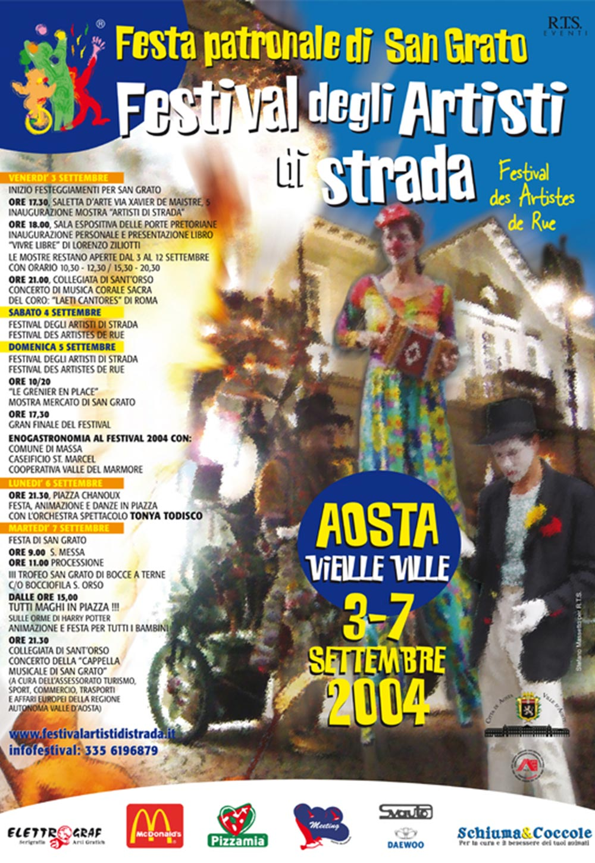 3 e 7 settembre 2004: secondo anno di Festival a conferma di un evento di successo!