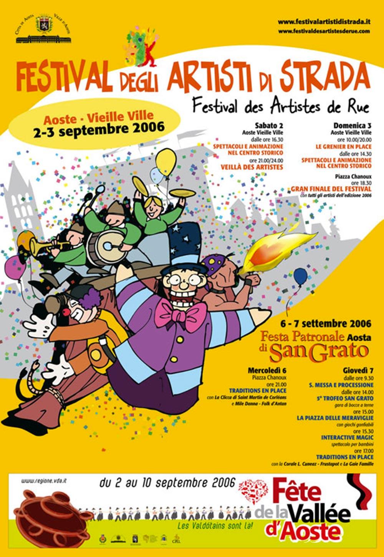 2 e 3 settembre 2006: il Festival richiama sempre più turisti da fuori Valle.
