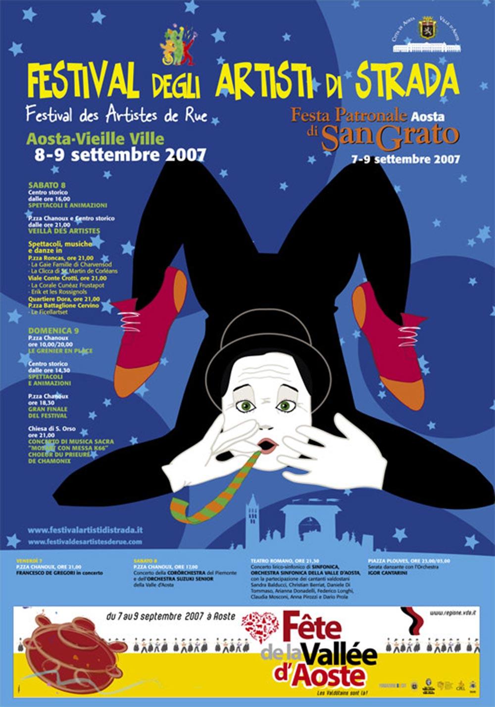 8 e 9 settembre 2007: il Festival è gemellato con il Festival di Sanremo. Si uniscono mare e montagna e gli artisti migliori vivono i due Festival...