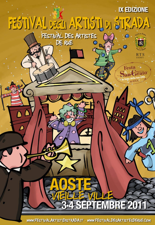 3 e 4 settembre 2011: nove anni di Festival, nove anni di storia tra sorrisi, sensazioni uniche, stupore e divertimento.