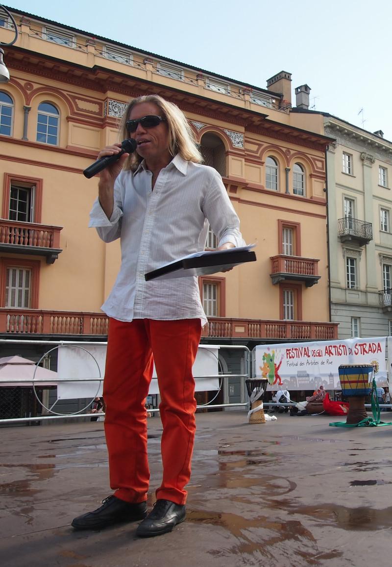 Carlo Benvenuto, presentatore del Festival 2021