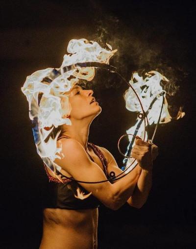 The Sparkle (Federica Tranchida) al Festival degli Artisti di Strada 2021